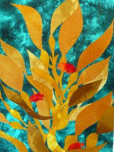 Fast Friday Fabric Challenge: California Kelp Forest