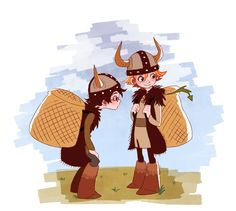 OMG this is from the first book.for those who don't know that is fishlegs and hiccup
