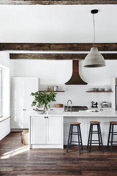 Kitchen island bar with storage.