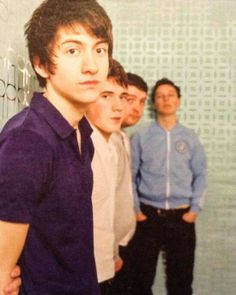 Arctic Monkeys, way, way years ago.