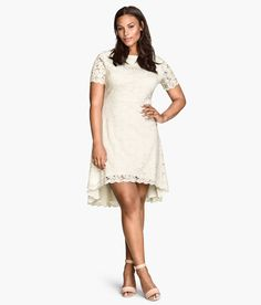H&M US | H&M+ Lace Dress $49.95