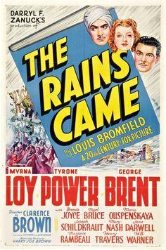 The Rains Came, 1939  ***