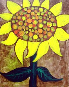 Sunflowers by Pablo Picasso | vine gogh kids | Sunflower: Mini Picasso | Vino and Van Gogh