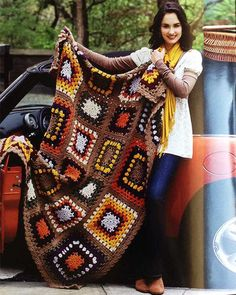Picture of Granny Square Afghans