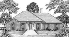 Neo-Traditional House Plan - 8401JH | 1st Floor Master Suite, Corner Lot, PDF, Traditional | Architectural Designs