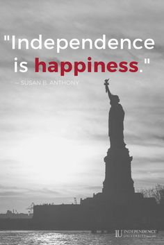 Let independence and happiness be your main focus this mod.