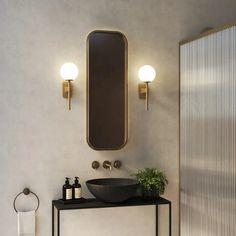 Astro Lighting, Direct Lighting, Best Bathroom Lighting, Bathroom Wall Lights, Interior Lighting, Lighting Design, Lighting Ideas, Contemporary Wall Lights, Luminaire Mural
