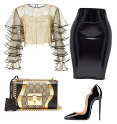 """""""chics"""" by mchlap on Polyvore featuring HUISHAN ZHANG and Gucci"""