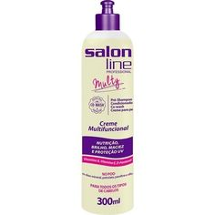 MULTY CREME FUNCIONAL SALON LINE 4 Em 1 300ml