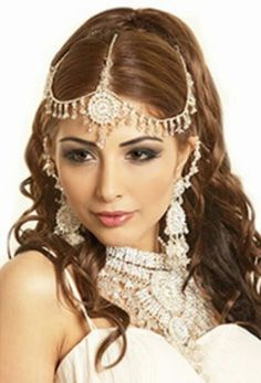 Indian style hair accessory