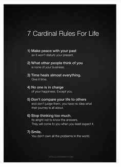 Must follow these every day!
