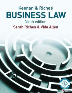 I'm selling Business Law by Sarah Riches and Vida Allen - $10.00 #onselz