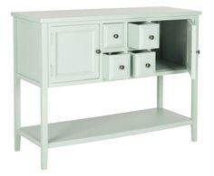 Kommode Charlotte, mintgrün, H 87 cm | Westwing Home & Living