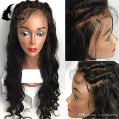 Brazilian Full Lace Human Hair Wig For Black Woman Body Wave Lace Front Human Hair Wigs With Baby Hair Glueless Full Lace Wig Best Full Lace Wigs Online Glueless Wig From Virginhairwig, $77.19| Dhgate.Com