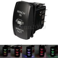 E Support/™ Car Blue LED Light Fog Rocker Toggle Switch