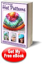 Free E-Book from AllFreeCrochet - 14 Free Crochet Hat Patterns