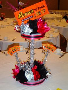 beaxh wedding theme candy table | beach theme bar bat mitzvah centerpiece games theme bat bar mitzvah ...