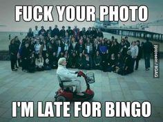 Granny photobomb... laughing sooo hard!!