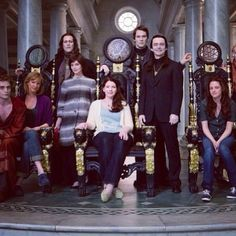 Some of the Twilight Cast on Italy Filming the volturi - infinite_kstew @ Instagram Web Interface - 5th village