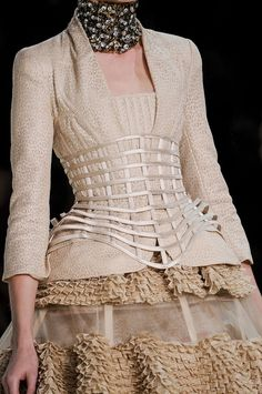 Alexander McQueen at Paris Fashion Week Spring 2013