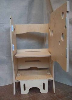 torre dell'apprendimento montessoriano -- Metodo Montessori per l'apprendimento dei bambini #montessori #montessoriano #mobilibambini
