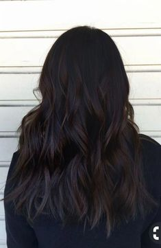 Long Wavy Ash-Brown Balayage - 20 Light Brown Hair Color Ideas for Your New Look - The Trending Hairstyle Brown Hair Shades, Light Brown Hair, Dark Brown Hair Rich, Dark Chocolate Brown Hair, Darkest Brown Hair, Black Brown Hair, Deep Brown, Black Hair With Ombre, Brown Hair For Fall