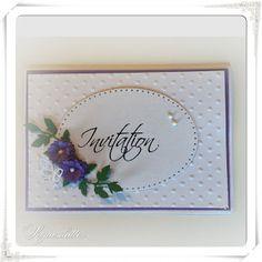 Lunasdatters Scrapbooking: Invitation ..
