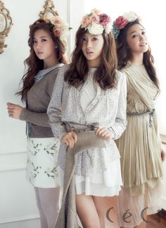 APink's Cho Rong, Ha Young and Eun Ji CéCi Korea Magazine November 2012