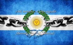 "¡#9 de #julio #Dia de la #Independencia!  ""Oid Mortales el Grito Sagrado.... Libertad, Libertad, Libertad"""