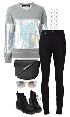 """""""Untitled #3212"""" by meandelstyle ❤ liked on Polyvore featuring Filles à papa, Yves Saint Laurent, Topshop, Vince Camuto and ASOS"""