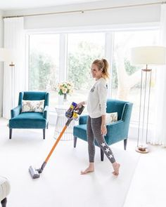 Cord-free and light-weight, this @Dyson V8 Absolute Vacuum is my