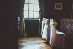 chairs in the Dining Room set up for a ceremony Room Set, Castle, Dining Room, Chairs, Home Decor, Dinner Room, Homemade Home Decor, Tire Chairs, Chair
