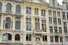 Façades de la grand-place de Bruxelles #bruxelles Multi Story Building, Belgium