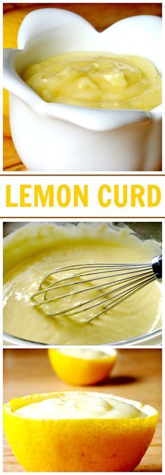 Lemon Curd – Lemon Curd is a thick, soft and velvety cream that has a wonderful tart yet sweet citrus flavor. Serve over shortbread cookies, use as a spread for toast and English muffins, or a filling for cakes, pies, and tarts!