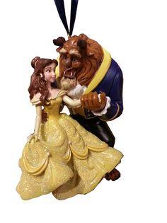 Disney Christmas Ornament - Beauty and the Beast - Belle & Beast