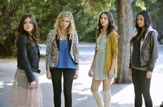 """""""If These Dolls Could Talk"""" - Lucy Hale as Aria Montgomery, Ashley Benson as Hanna Marin, Troian Bellisario as Spencer Hastings and Shay Mitchell as Emily Fields in PRETTY LITTLE LIARS on ABC FAMILY"""
