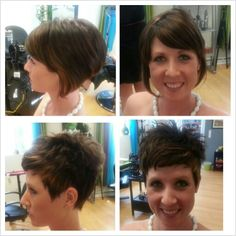Short and sweet! Hair by Jesse