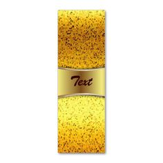 SOLD 15 Bookmark Business Card Glitter Graphic Gold! #Zazzle #Bookmark #Business #Card #Glitter #Graphic #Gold http://www.zazzle.com/bookmark_business_card_glitter_graphic_gold-240632672094841752
