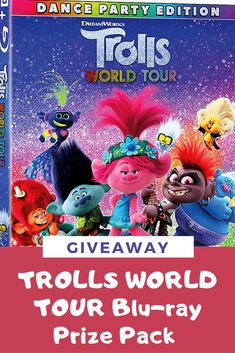 TROLLS WORLD TOUR Dance Party Edition Prize Pack Giveaway ~ CAN/US 07/13 Kenan Thompson, Poppy And Branch, Red Carpet Party, Crazy Ex Girlfriends, Ugly Dolls, Mary J, Friends With Benefits, Ozzy Osbourne, A Star Is Born
