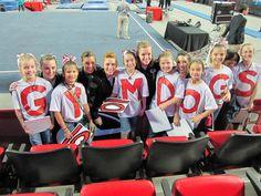 Go UGA Gymdogs Gymnastics team!