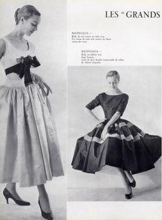 Balenciaga Evening Gown 1955