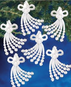 Best 12 Chenille Angels Beaded Ornaments – Add a little sparkle to your tree. Kit includes all components to make as shown. Outdoor Christmas Tree Decorations, Diy Christmas Garland, Decorating With Christmas Lights, Beaded Christmas Ornaments, Christmas Angels, Christmas Crafts, Globe Ornament, Ornament Crafts, Bead Crafts