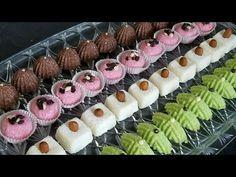 حلويات بدون فرن بمكونين اساسين فقط و كاتجي رائعة الشكل و المذاق /حلويات العيد 2018 - YouTube A Food, Food And Drink, Clay Crafts, Mini Cupcakes, Sushi, Biscuits, Deserts, Oven, Dessert Recipes