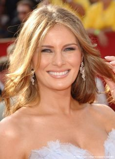 Melanie Trump, she would definitely bring class and elegance back to the White House