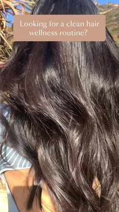 Edgy Hairstyles, Long Hair Tips, Brown Hair With Blonde Highlights, Hair Upstyles, Natural Hair Styles, Long Hair Styles, Hair Masks, Hair Regimen, Hair Serum