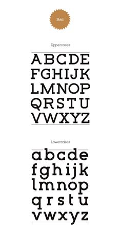Lumberjack Typeface by Thiago Bellotti, via Behance