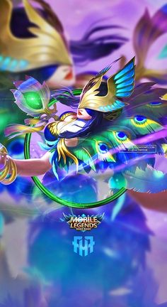 Wallpaper Phone Pharsa Peafowl Pharsa by FachriFHR on DeviantArt Hipster Wallpaper, Hero Wallpaper, Fantasy Characters, Anime Characters, Female Characters, Alucard Mobile Legends, Android Mobile Games, Moba Legends, Legend Games