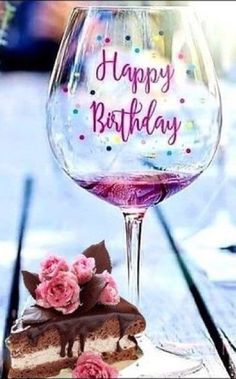 Happy Birthday Drinks, Happy Birthday Greetings Friends, Happy Birthday Wishes Photos, Birthday Wishes Flowers, Happy Birthday Wishes Images, Happy Birthday Celebration, Birthday Wishes Messages, Happy Birthday Flower, Happy Birthday Cards