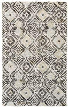 Carlotta Hand-Tufted Gray/Pastel Area Rug
