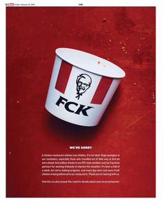 KFC Just Handled a Public Relations Crisis Perfectly With a Single Picture | Inc.com